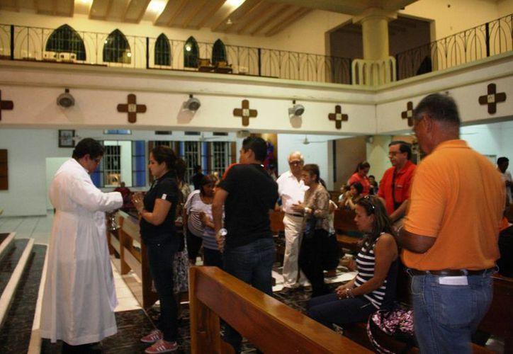 Más de la mitad de las organizaciones religiosas  en el municipio de Solidaridad no están constituidas legalmente. (Octavio Martínez/SIPSE)