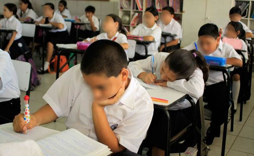 Este 7 de enero regresan medio millón de estudiantes a las escuela.(Foto: Novedades Yucatán)