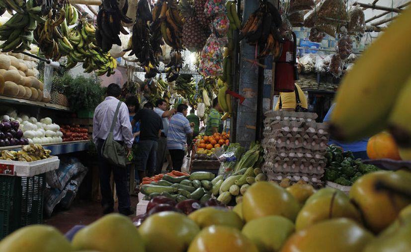 Los productos que piden son carne, pescado, frutas y verduras. (Israel Leal/SIPSE)