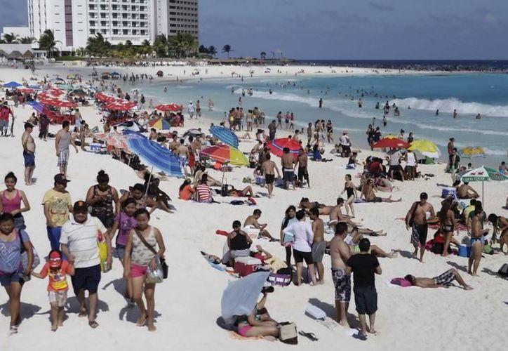Llegaron a Quintana Roo, aproximadamente 10%  más de visitantes mexicanos de los que se esperaban. (Foto: Contexto/Internet)