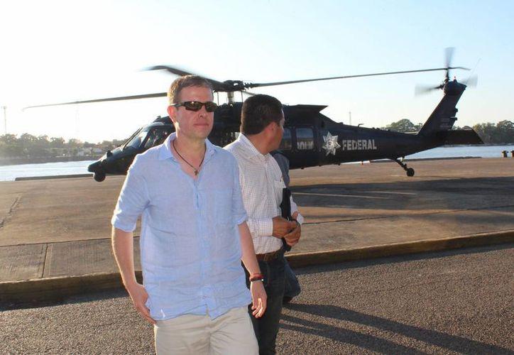 Alfredo Castillo indicó que se recuperó la seguridad en Michoacán en solamente 10 semanas. (Notimex)