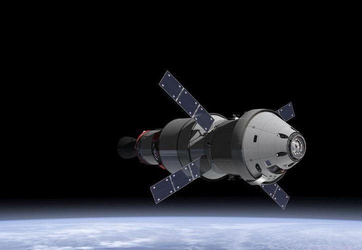 Prototipo de a cápsula que lanzarían hacia el satélite de la Tierra. (nasa.gov)