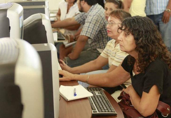 Aún es tiempo para inscribirse en los cursos de capacitación gratuitos que se imparten en estas vacaciones de verano. (Archivo/SIPSE).