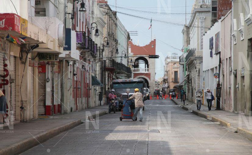 """La mayoría de los ciudadanos cumplen con el """"quédate en casa"""". (Novedades Yucatán)"""