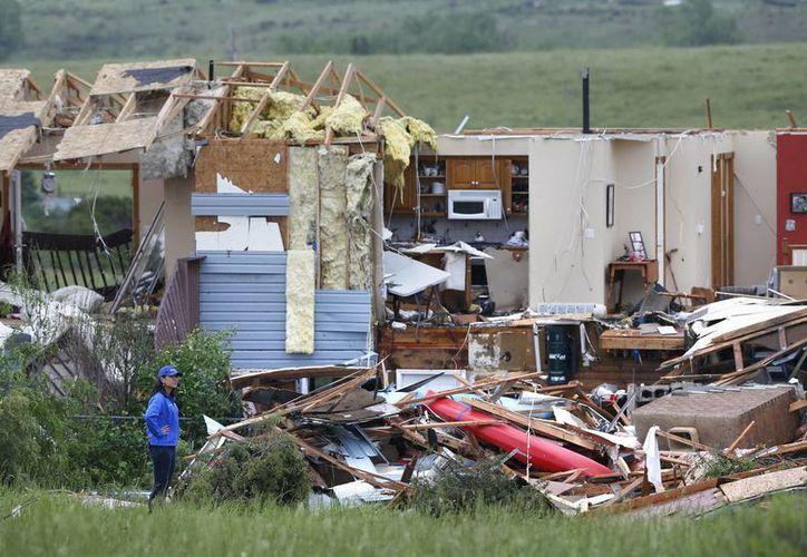 Según pronósticos meteorológicos, en Colorado se registrarán más tormentas intensas en las próximas horas. (AP)