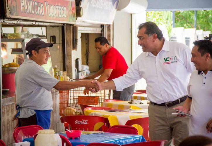 Anuncia Víctor Caballero amplia estrategia de prevención del delito en Mérida. (Milenio Novedades)