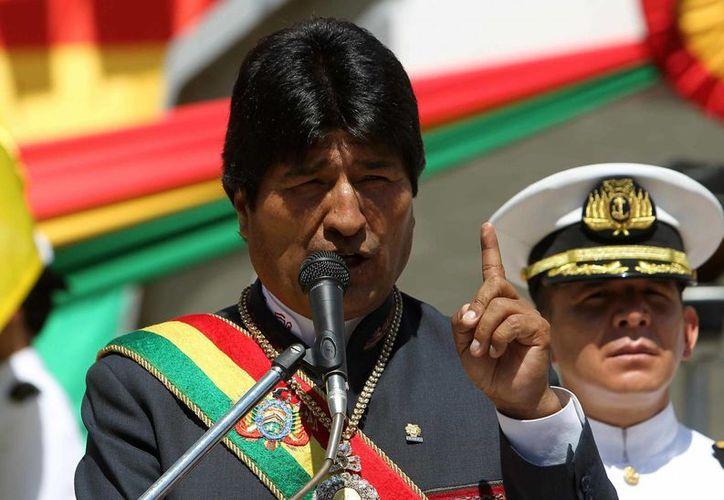 Evo Morales está indignado contra países europeos. (EFE/Archivo)