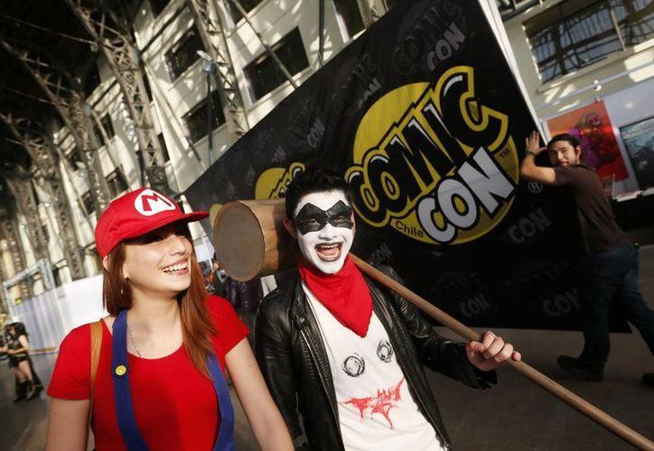 Los coleccionistas de cómics dan todo por asistir al encuentro en Santiago de Chile. (Efe)