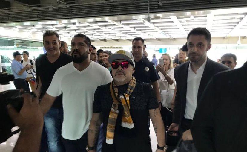 Diego Armando Maradona será presentado oficialmente mañana. (Internet)