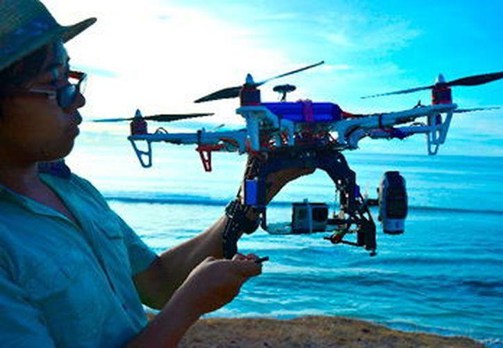 Los drones sirven para investigación petrolera o en la agricultura. (Foto: Milenio Novedades)