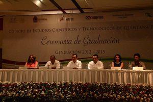 Se gradúan alumnos del Cecyte y Cbtis en Cancún