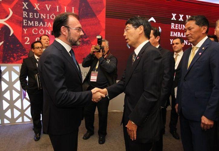 Japón es el único país de Asia con el que México tiene un tratado de libre comercio vigente. (Foto: SRE México).
