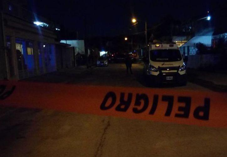 El asesinato de la mujer se registró en un domicilio de la Supermanzana 58. (Eric Galindo/SIPSE)