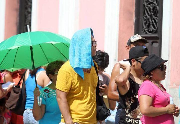 Ayer el termómetro sobre pasó los 40 grados en Yucatán y de acuerdo con los pronósticos, las altas temperaturas se mantendrán. (SIPSE)