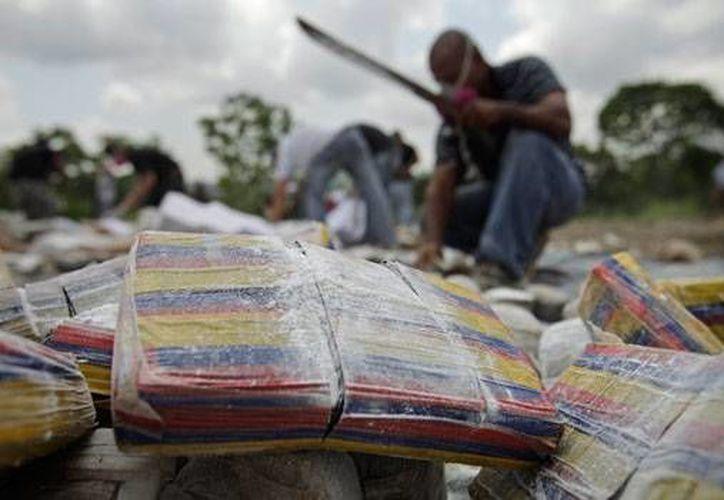 El valor de la droga en el mercado supera los 10 millones de dólares. (Archivo/AP)