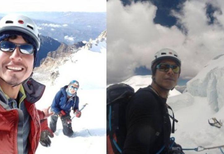 La tragedia fue comunicada por otro montañista español que sobrevivió a la avalancha. (Internet)