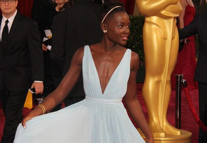 """Lupita Nyong'o ganó el Oscar a Mejor Actriz de Reparto en su primera nominación, gracias a su actuación en la cinta """"12 years a slave"""", (Archivo Notimex)"""