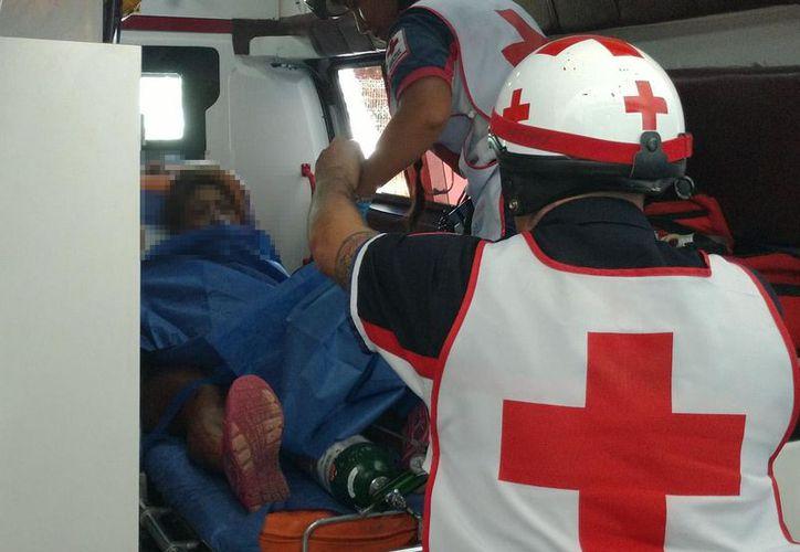 La mujer recibió  impactos de bala en estómago y cuello. (Foto: Redacción/SIPSE).