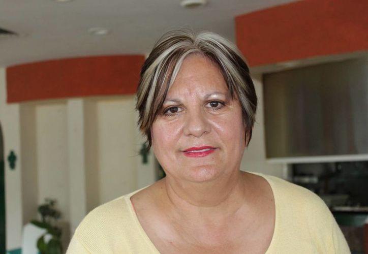 La presidenta de la AMPI, sección Riviera Maya, Laura Zapata Castillo. (Adrián Barreto/SIPSE)