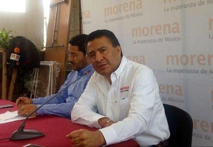 Horacio Duarte, representante de Movimiento de Regeneración Nacional ante el INE. (José Antonio Belmont/Milenio)