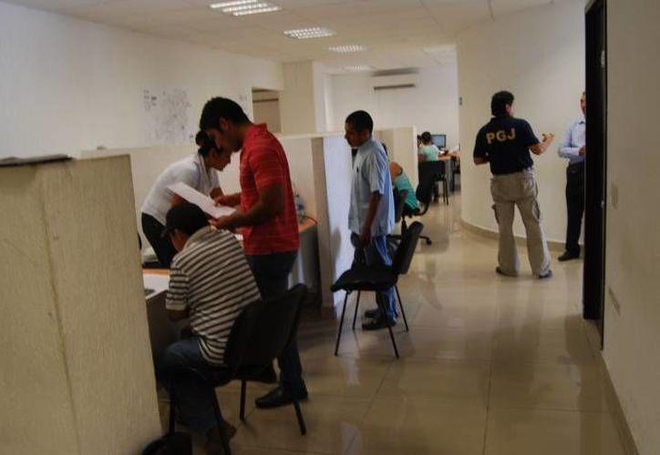 La afectada fue atendida en el Ministerio Público del Fuero Común. (Eric Galindo/SIPSE)