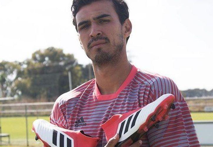 Durante su estancia en España, el mexicano presenció el partido de Semifinales de Champions League. (Instagram)