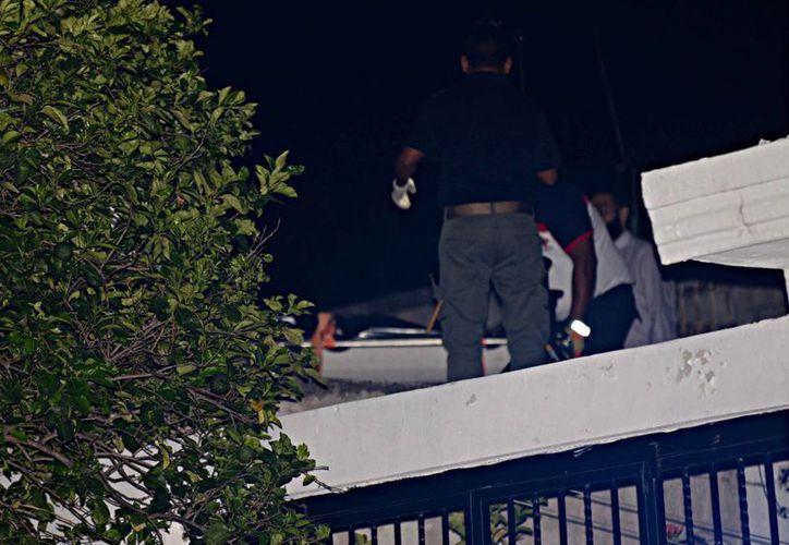 El occiso se quitó la vida junto al tinaco del techo de su casa en la colonia Azcorra. (SIPSE)