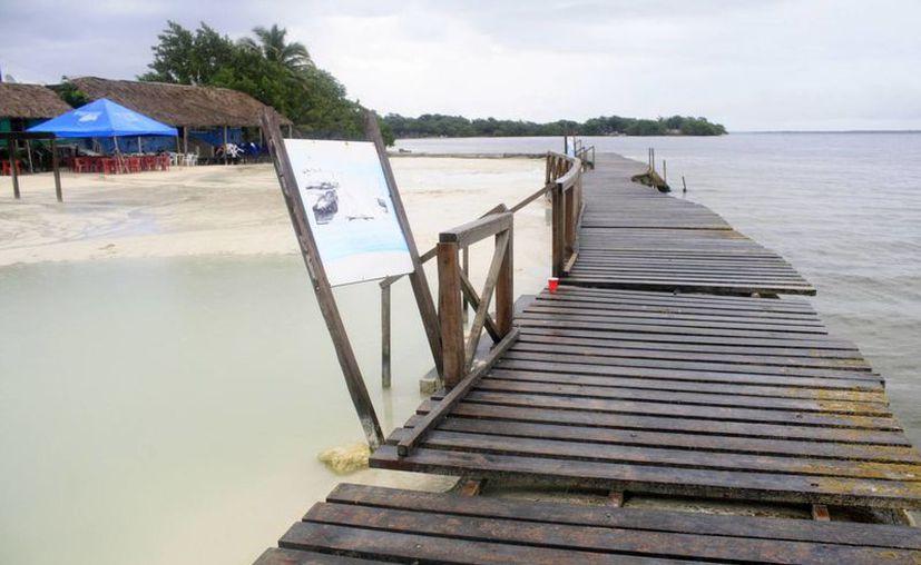Las playas fueron construidas en la administración municipal del periodo 1999-2002. (Harold Alcocer/SIPSE)