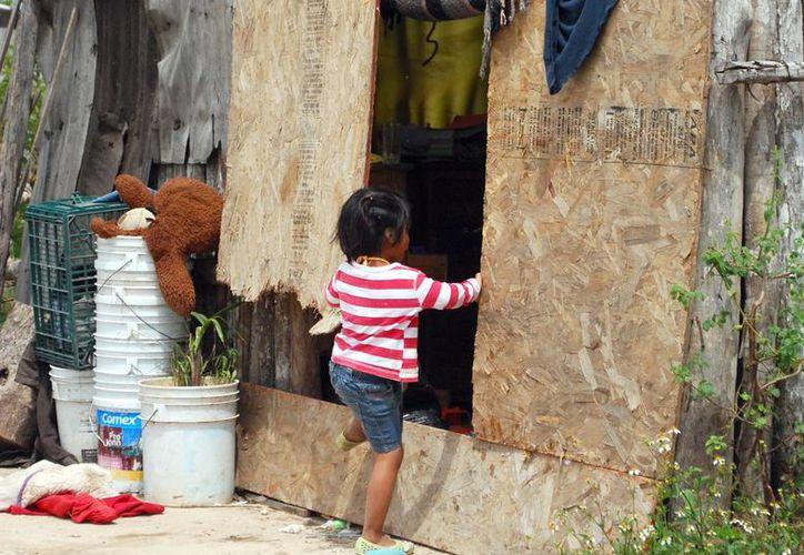 El municipio Benito Juárez registra menores con desnutrición. (Tomás Álvarez/SIPSE)