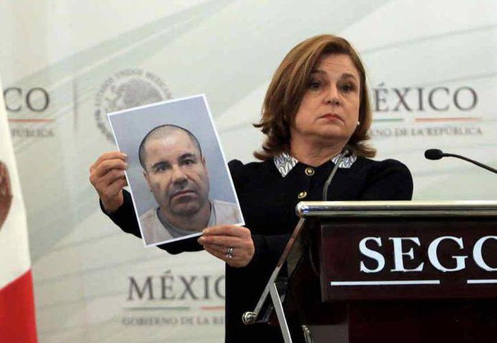 Arely Gómez González, titular de la PGR, dijo que la investigación sobre la fuga del líder del cártel de Sinaloa es uno de los casos más importantes que tienen en curso. (Archivo/Reuters)