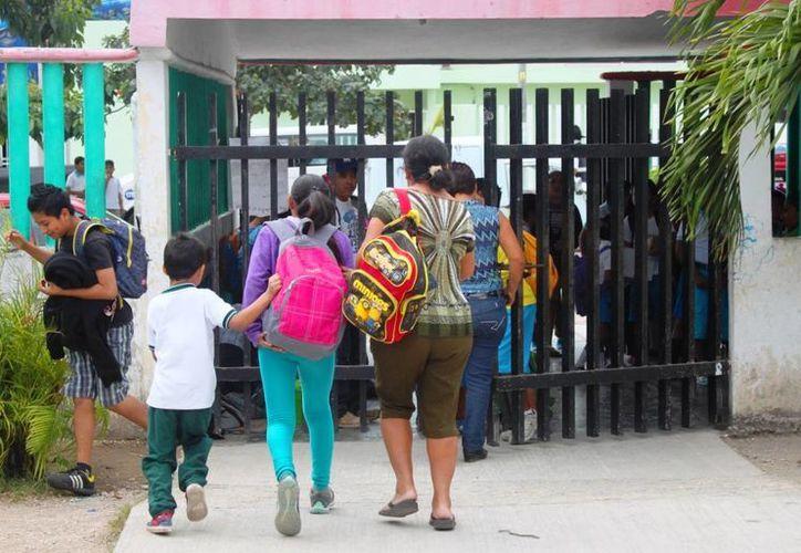 Para este regreso a clases el municipio de Solidaridad estará contando con 9 planteles educativos de nueva creación. (Daniel Pacheco/ SIPSE)