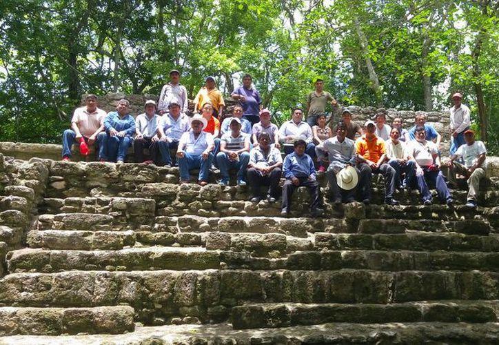 La zona arqueológica de Chakanbakán, es la más grande de la cultura maya en el sureste, por la majestuosidad de su acrópolis. (Joel Zamora/SIPSE)