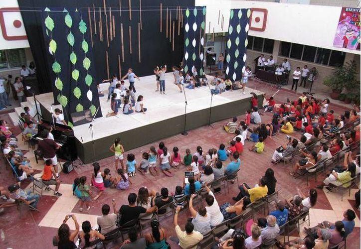 Este mes la Casa de la Cultura de Cancún ofrece actividades gratuitas para chichos y grandes. (Cortesía)