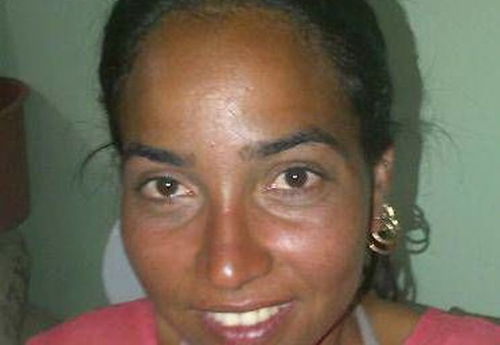La única mujer que llegó en el grupo de balseros cubanos. (SIPSE)