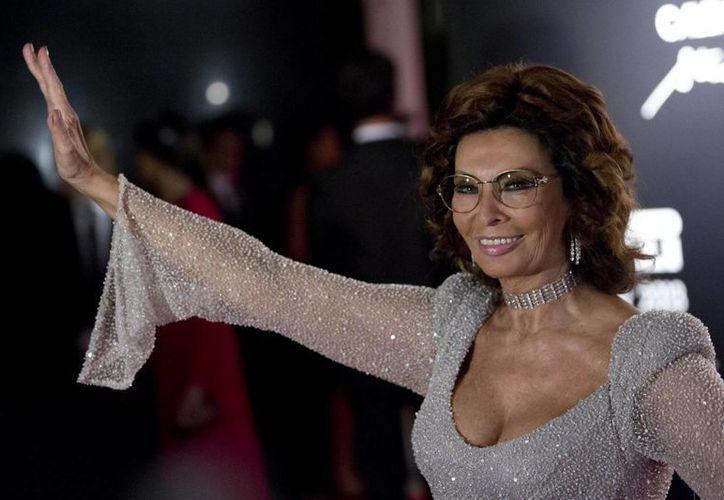 La actriz italiana Sophia Loren será la invitada de honor de la 67 edición del Festival de Cannes en Francia. (Agencias/Archivo)