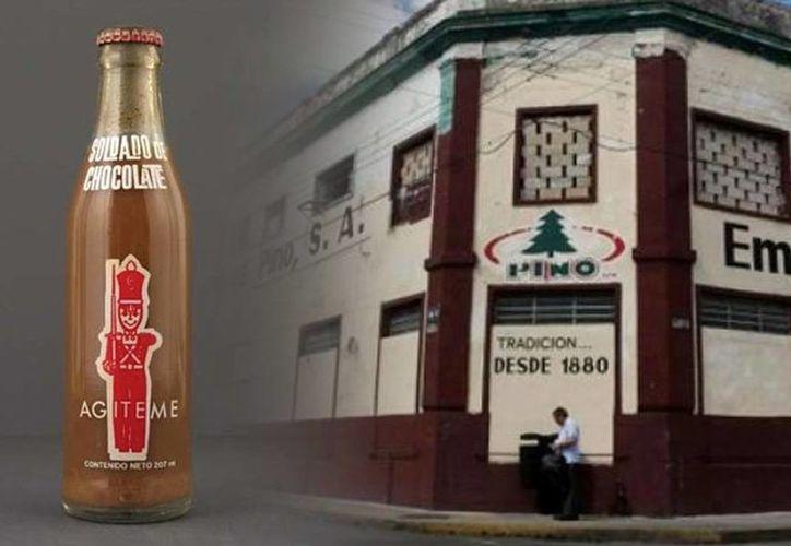 La Embotelladora de Refrescos Pino, S.A. de C.V. producía, además del Soldado de Chocolate y la Sidra Pino Negra, refrescos emblemáticos de Yucatán. (Foto: Especial)