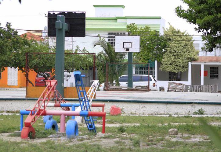 Se contempla rescatar 50 espacios públicos. (Sergio Orozco/SIPSE)