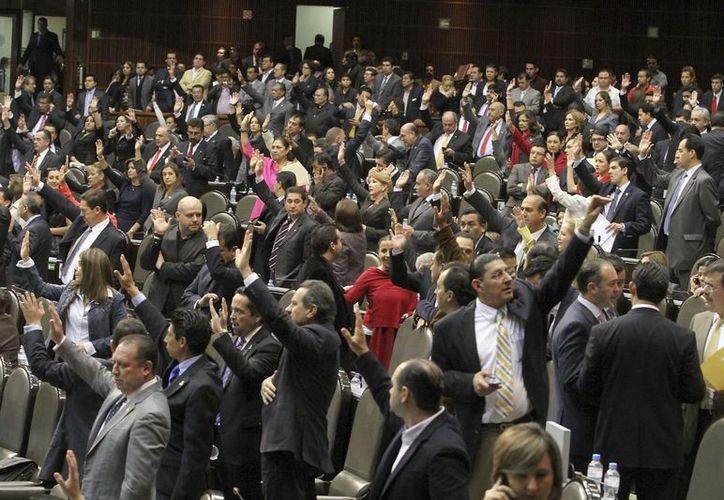Los diputados avalaron las reformas formuladas por los senadores. (Notimex)