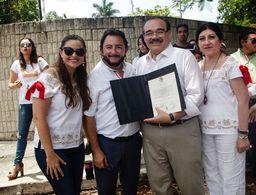 'No les voy a fallar', afirma Jorge Carlos Ramírez Marín