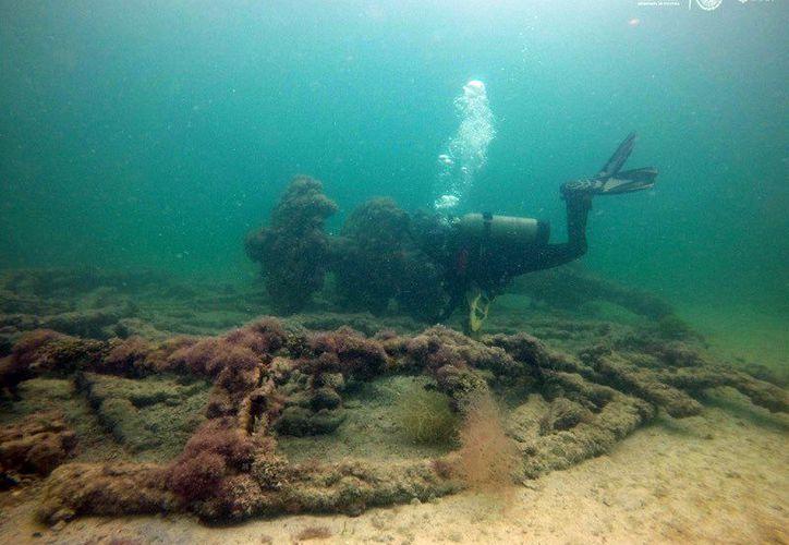 Los investigadores registraron vestigios de embarcaciones hundidas en aguas yucatecas. (Foto: Milenio Novedades)