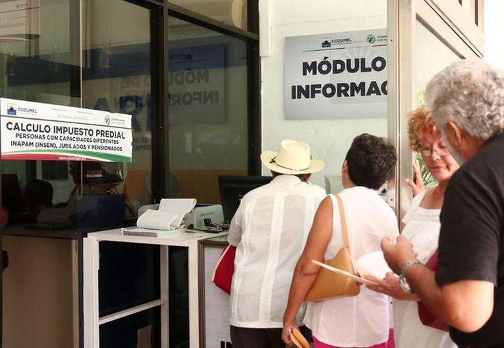 Se amplió el servicio de cajas para realizar el cobro del impuesto predial en Cozumel. (Redacción/SIPSE)