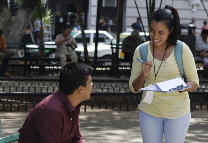 Aunque sólo la tercera parte de entrevistados dijo que votará, Yucatán se distingue por alta participación en elecciones. (Milenio Novedades)