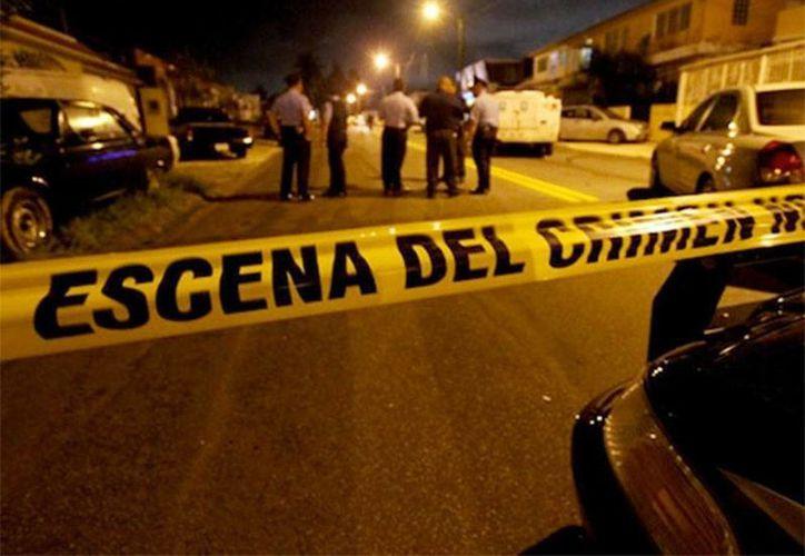 Daniel Treviño fue detenido cerca de una cantina en Acuña, Coahuila. luego que asesinó a su abuela con un hacha. (Excelsior)