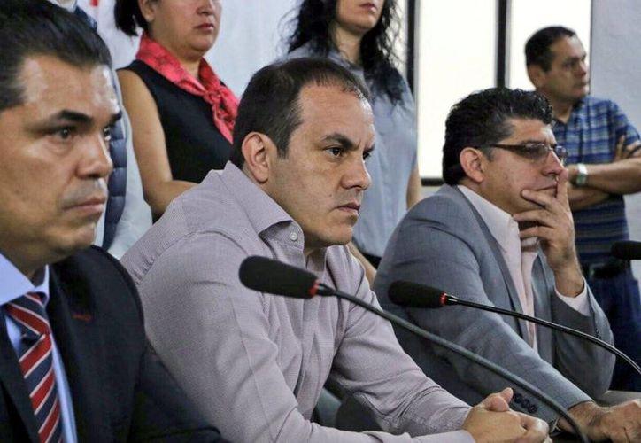 Cuauhtémoc Blanco Bravo tiene tres días para presentarse a ratificar la demanda contra el gobernador de Morelos y varios diputados locales. (twitter.com/CuauhtemocBco)