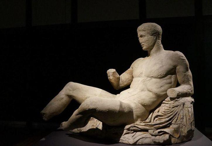 """La exposición """"Definiendo la Belleza: El cuerpo en el arte de la Grecia Antigua"""" alberga 120 objetos. (Notimex)"""