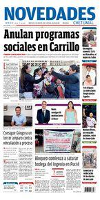 Anulan programas sociales en Carrillo