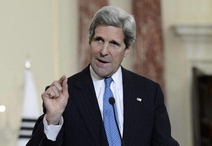 Kerry, como secretario de Estado de EU, afronta la amenaza global del Estado Islámico. (EFE/Archivo)