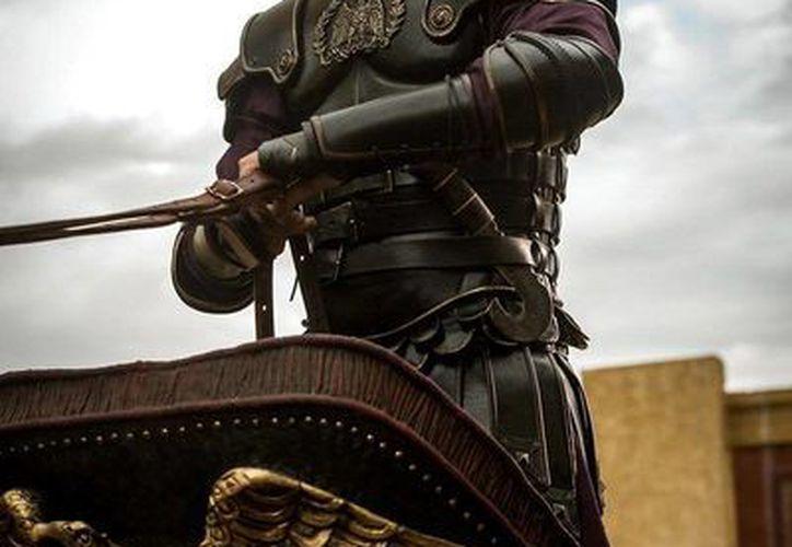 Toby Kebbell interpreta a <i>Messala</i>, el hermano de <i>BenHur</i>. (Twitter: @ParamountMexico)