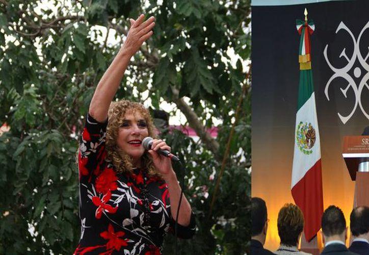 La senadora Luz María Beristáin tuvo participación en la Reunión de Embajadores y Cónsules de México. (Cortesía)