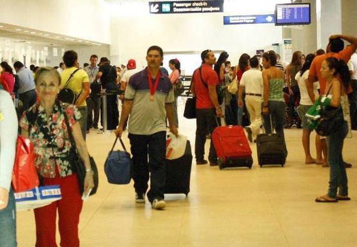 Informan sobre vuelos suspendidos en el Aeropuerto de Mérida. (Imagen ilustrativa Milenio Novedades)